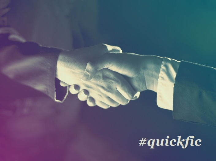 The Handshake #quickfic